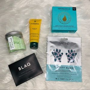 FabFitFun Sugar Cubes, Hair Mask, Eye Mask, Etc